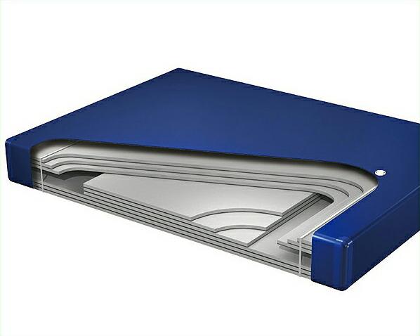 ウォーターマットレスハードサイド Q(1バッグ)BluMax 6000【ウォーターワールド/WATER WORLD】※代引き不可 ドリームベッド dream bed
