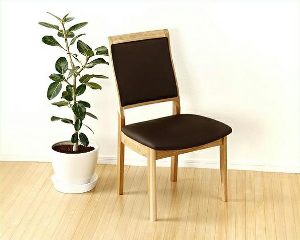 木製ダイニングチェアー (肘なし椅子)