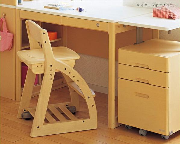 フォーステップチェア(板座タイプ)学習椅子・学習チェア 【koizumi】コイズミ