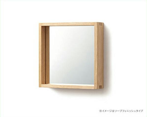 ナラ無垢の壁掛けミラー(小)miyakonjo product(ミヤコンジョプロダクト)COMISEN(コミセン)シリーズ小泉誠デザイン※代引き不可