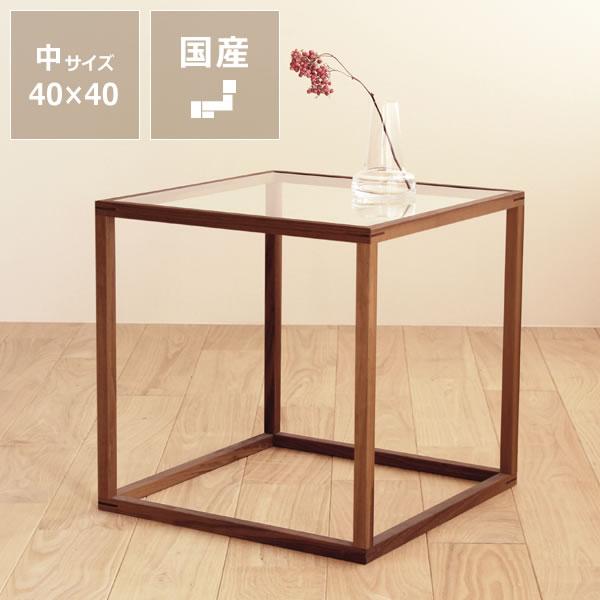 無垢材で作ったネストテーブル中サイズ【北欧スタイル・木製】