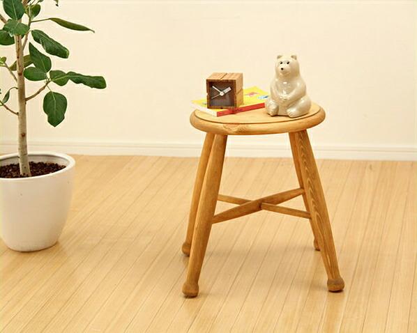 木製ロースツール