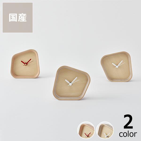 PLYWOOD laborarory(プライウッド ラボラトリ)clock rotation置き時計