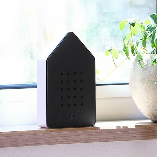特別セール品 送料無料 小鳥の歌声で森林浴気分を楽しめるメロディーボックス バーディボックス USB充電式 ブラック 直送商品 Classic Black BIRDYBOX 小鳥のさえずりメロディーボックス