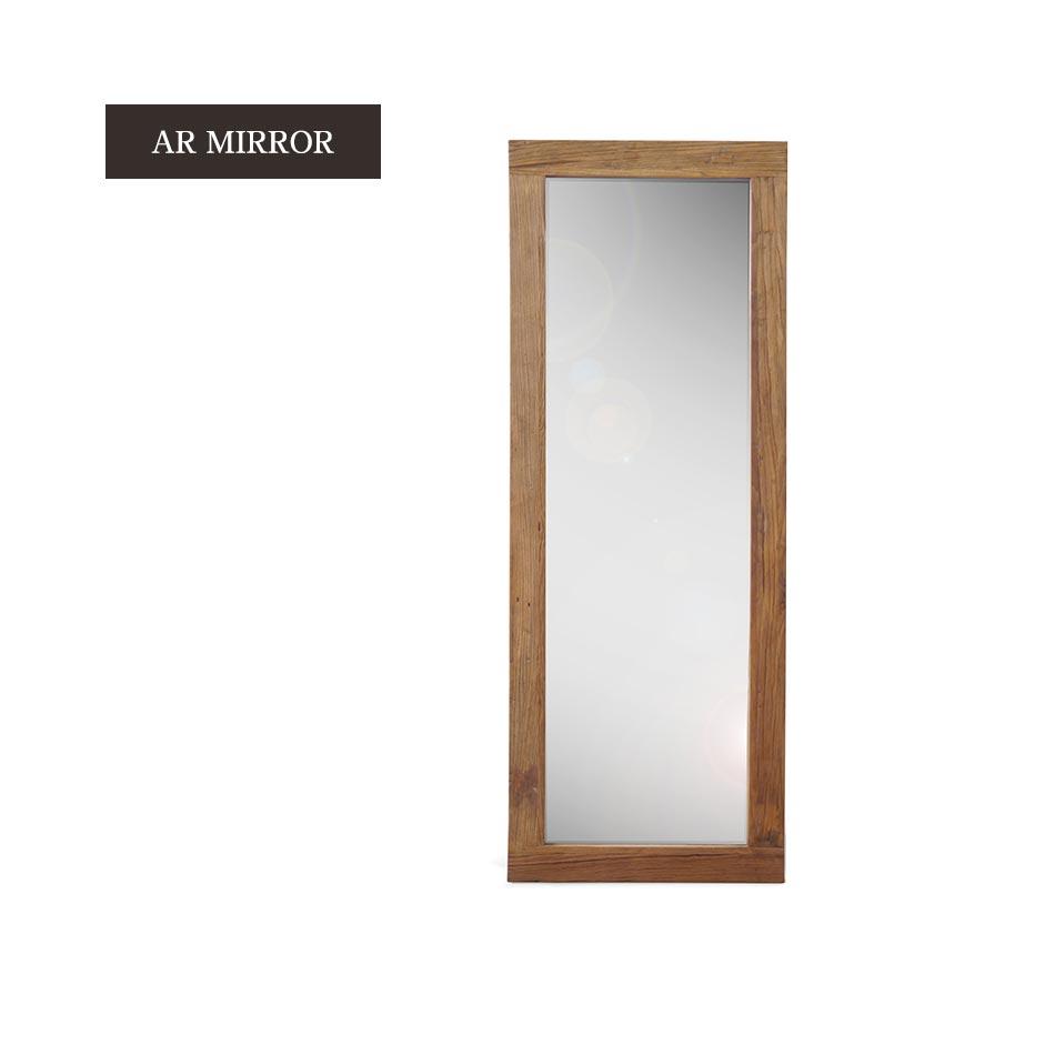 【送料無料】ミラー スタンドミラー 鏡 鏡面 置き鏡 木製 AR MIRROR 全身ミラー 姿見ミラー アンティークミラー ウォールミラー家具 インテリア デザイナーズ 送料無料