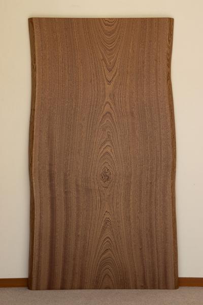 家具蔵(かぐら) 一枚板テーブル 無垢天板【樹種:サペリ】(RSP-70) オーダー家具 W1500・D850・H700
