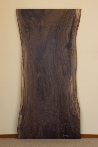 家具蔵(かぐら) 一枚板テーブル 無垢天板【樹種:ウォールナット】(RWA-80) オーダー家具 W1800・D910・H700