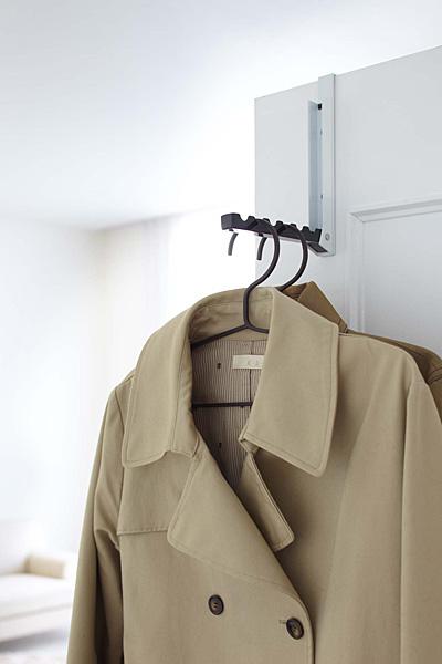 Smart folding door hanger [Hang coat rack clothes door hook door hook hanger]  PVSWL