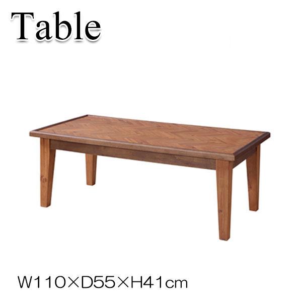 センターテーブル AZ-0674 ローテーブル コーヒーテーブル リビング テーブル 机 木製 アカシア 幅110cm 奥行55cm 高さ41cm
