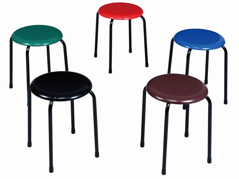 Sensational Stool Maru Chair Four Leg Steel Leg Black Painting Synthetic Leather Vinyl Leather Stacking Possibility Ut 0922 1 Forskolin Free Trial Chair Design Images Forskolin Free Trialorg
