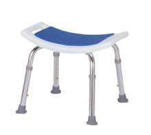 介護椅子 介護用 風呂椅子 お風呂椅子 風呂椅子 シャワーチェア(背なし)軽量アルミ医薬品・コンタクト・介護・福祉・介護・入浴用品・シャワーチェア・入浴用イス滑りにくいゴムキャップ付き高さ調整付き 椅子 肘掛けなし イス