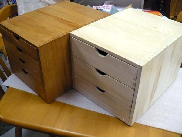 Kagusabu a papers glove compartment wooden drawers