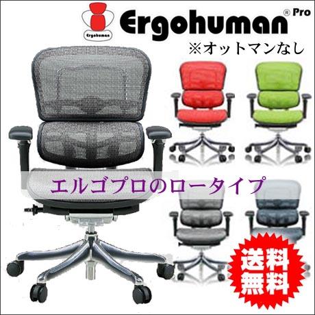 エルゴヒューマン プロ ロータイプ Ergohuman メッシュタイプ  パソコンチェアー オフィスチェア 社長椅子 全12カラー 送料無料