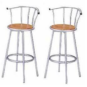 送料無料 カウンターチェアー単品2脚セット!cafeスタイル 回転360度 カウンター チェア 椅子 イス キッチン バーチェア ダイニング 椅子 イス 肘掛けなし