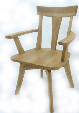 (お買い物マラソン)ダイニングチェア 回転 肘付き 360度 (回転式肘付きチェアー単品) 木 天然木 タモ 集成材 無垢 回転チェアーインテリア・寝具・収納 イス・チェア ダイニングチェアハイバック 椅子 イス 肘掛け 木製 送料無料