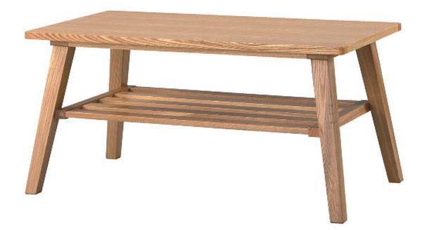 天然木 テーブル コーヒーテーブル リビングテーブル ロー&センターとしてもOK! 天然木 シンプルでモダンなデザイン ナチュラル テーブル 木製脚 パーツ 送料無料