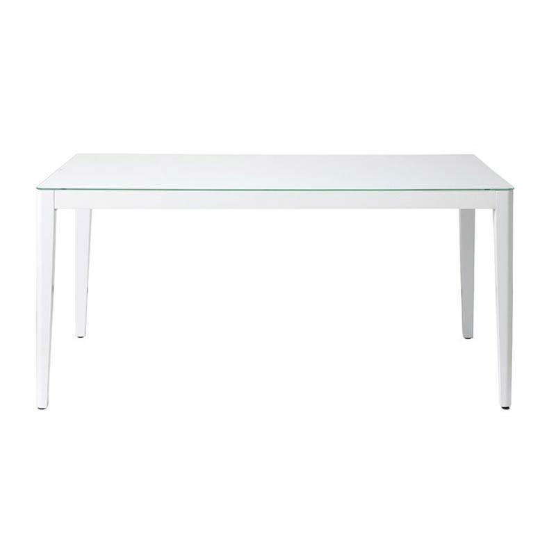 GDT-7681 WiTH(ウィズ) ダイニングテーブル150 (ホワイト) ダイニングテーブル おしゃれ テーブル 食卓 食卓テーブル ダイニングテーブル テーブル単体 azk-gdt-7681 あずま工芸 [azk-wit] 【z-b02-6a】