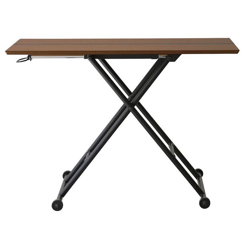 RLT-4510 LOGICA(ロジカ) リフティングテーブル (ダークブラウン) 昇降式テーブル 昇降テーブル 食卓 テーブル カフェ テーブル 昇降 昇降テーブル リビングテーブル azk-rlt-4510 あずま工芸 【z-b02-a0】