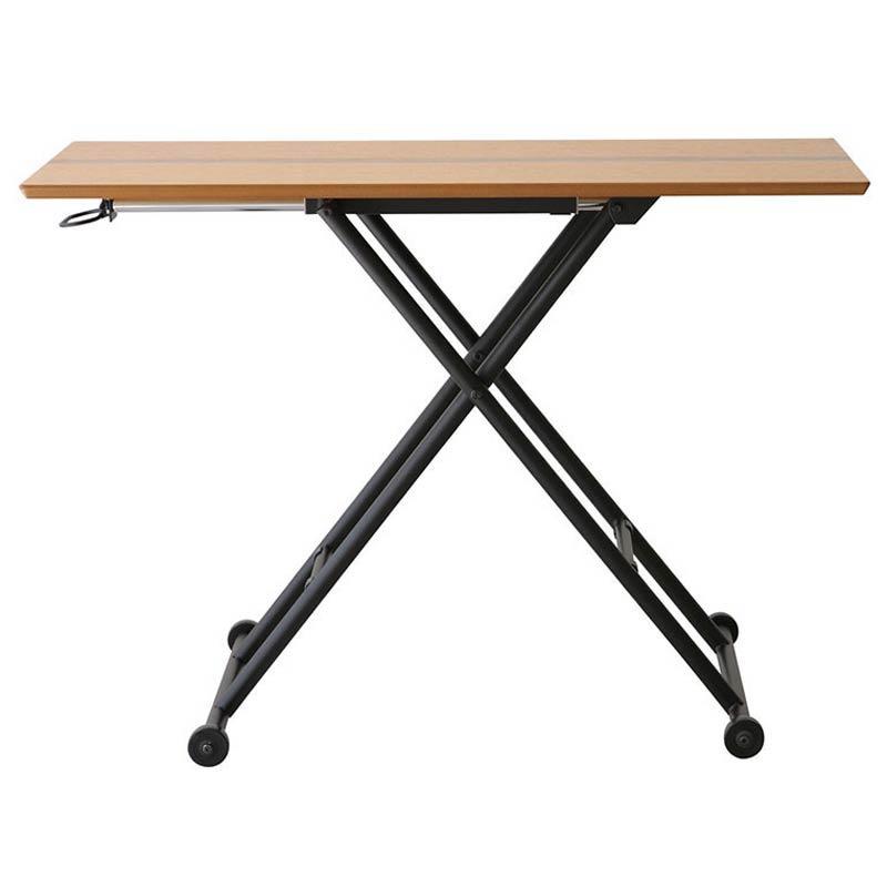 RLT-4516 LOGICA(ロジカ) リフティングテーブル (ナチュラル) 昇降式テーブル 昇降テーブル 食卓 テーブル カフェ テーブル 昇降 昇降テーブル リビングテーブル azk-rlt-4516 あずま工芸 【z-b02-a0】
