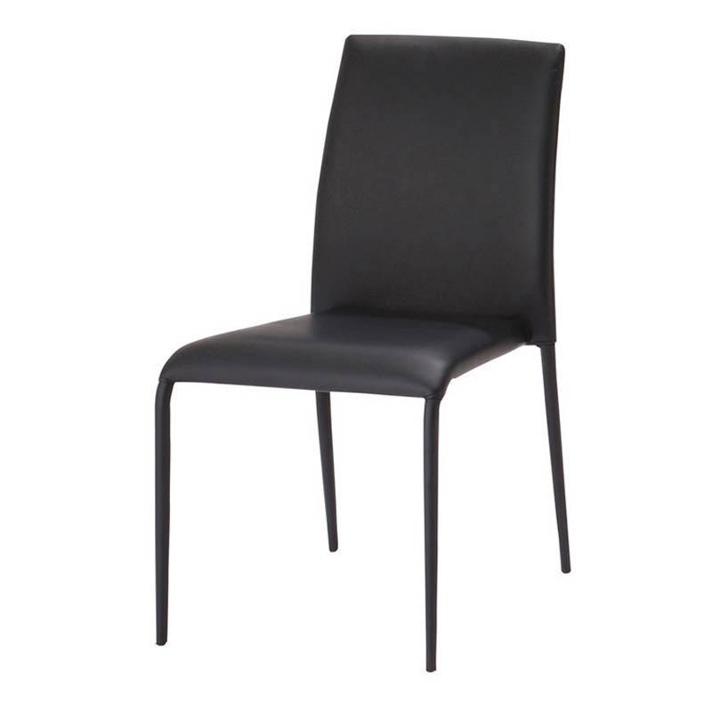 TDC-9339 LINK(リンク) スタッキングチェア (ブラック) 4個セット ダイニングチェア ダイニング椅子 椅子 キッチンチェア ダイニングイス 食卓椅子 チェア イス チェアー 椅子 おしゃれ azk-tdc-9339 あずま工芸chair [azk-arg] 【z-b03-00】