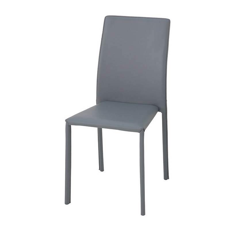 TDC-9765 BRIGHT(ブライト) スタッキングチェア (グレー) 4個セット ダイニングチェア ダイニング椅子 椅子 キッチンチェア ダイニングイス 食卓椅子 チェア azk-tdc-9765 あずま工芸chair 【z-b03-00】