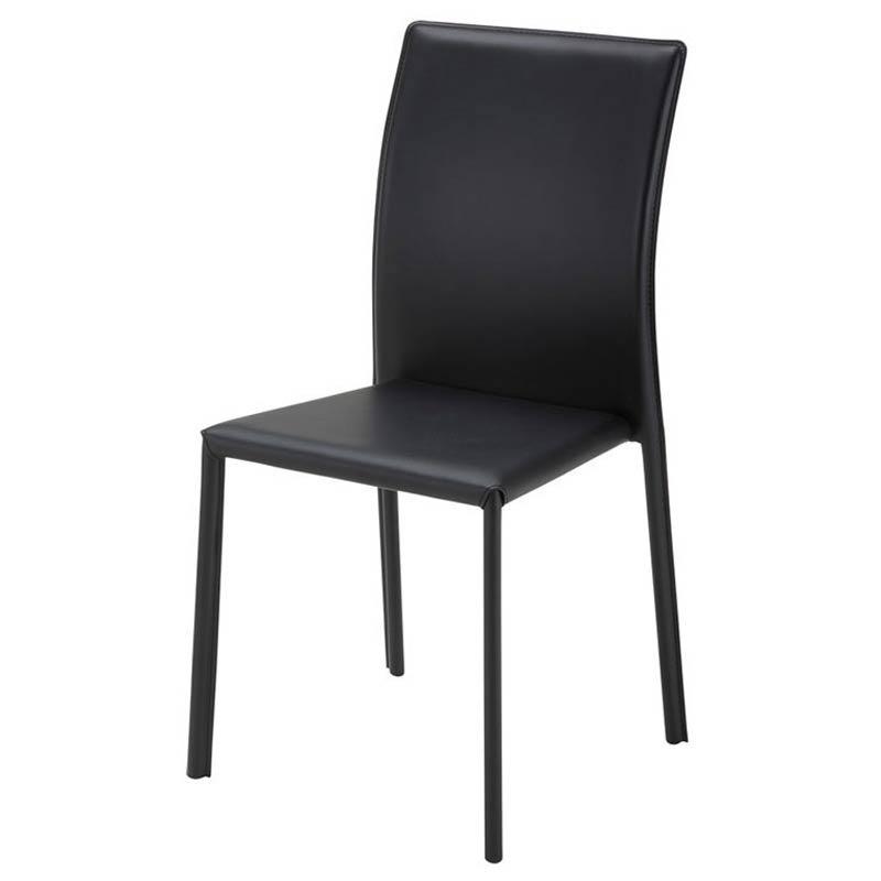 TDC-9769 BRIGHT(ブライト) スタッキングチェア (ブラック) 4個セット ダイニングチェア ダイニング椅子 椅子 キッチンチェア ダイニングイス 食卓椅子 チェア azk-tdc-9769 あずま工芸chair [azk-pla] 【z-b03-00】