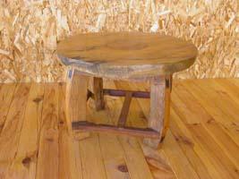 アジアン古木家具丸テーブル