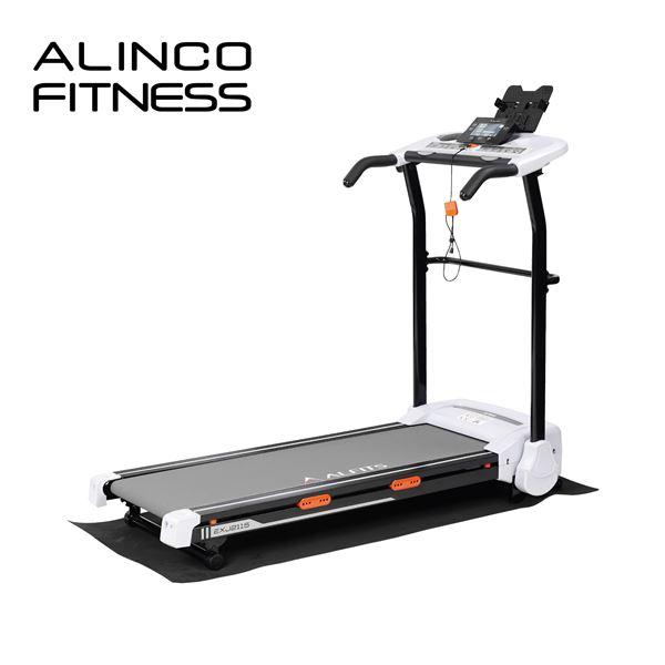 アルインコ(ALINCO) ジョギングマシン 2115音声ガイド プログラム搭載 EXJ2115 ルームランナー ランニングマシン ランニングマシーン 折りたたみ 折り畳み 【送料無料】