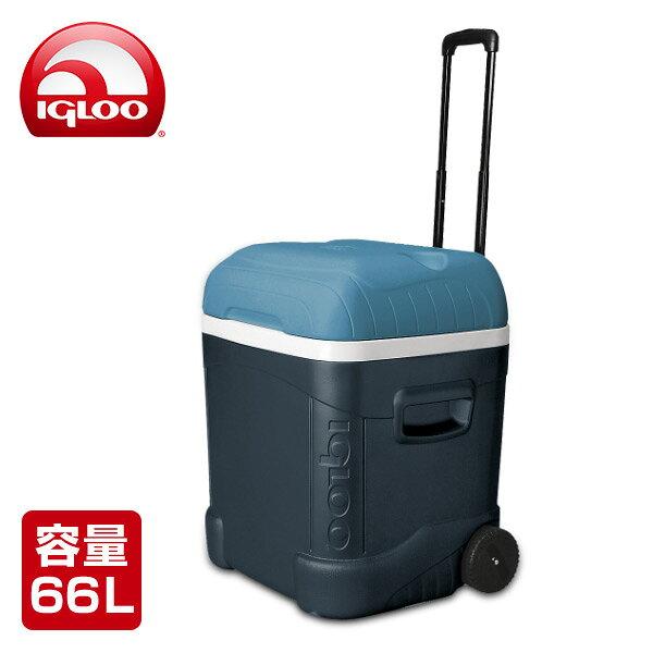 イグルー(IGLOO) アイスキューブ マックスコールド 70 ローラー (66L) #34071 ジェットカーボン クーラーボックス クーラーバッグ アウトドア キャンプ 保冷バッグ キャンプ用品 【送料無料】