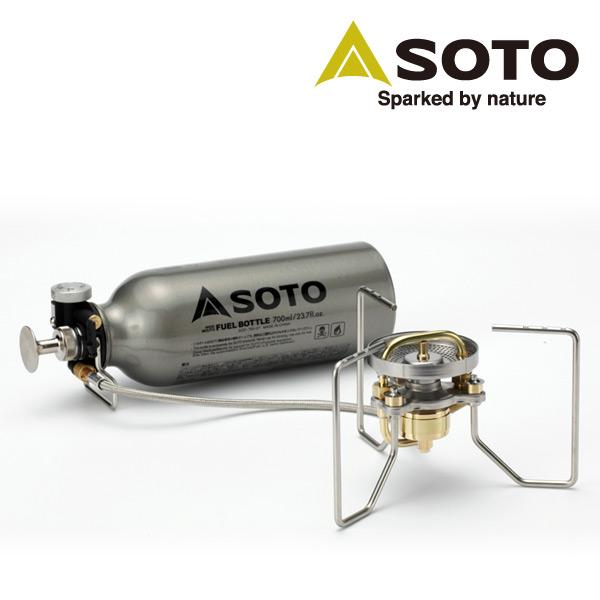 新富士バーナー(SOTO) ストームブレイカー SOD-372 ガソリンストーブ シングルバーナー ガスバーナー キャンプ用品 【送料無料】