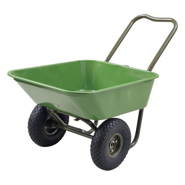ガーデンマスター マルチガーデン二輪車 HPC-63(GR) グリーン キャリーカート 台車 リヤカー 【送料無料】 山善/YAMAZEN/ヤマゼン