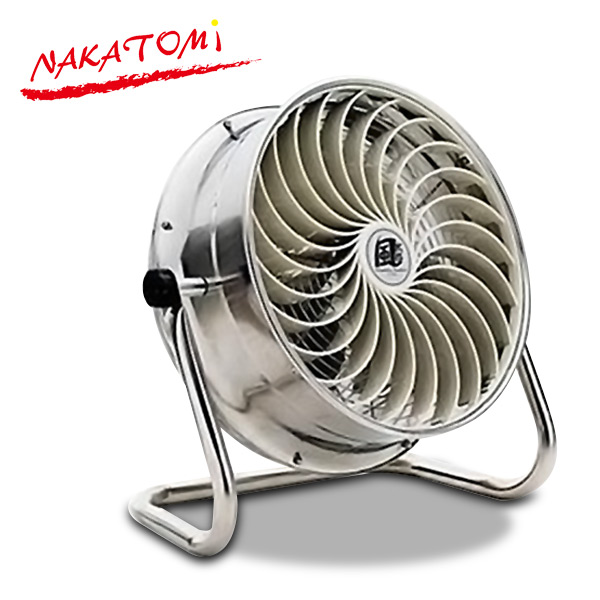 ナカトミ(NAKATOMI) 35cm循環送風機 風太郎 ステンレス製 CV-3510S 工業扇風機 工場扇風機 サーキュレーター 【送料無料】