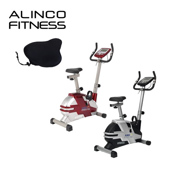 アルインコ(ALINCO) プログラムバイク AFB6010+サドルカバー お買い得セット AFB6010S エクササイズバイク フィットネスバイク 【送料無料】