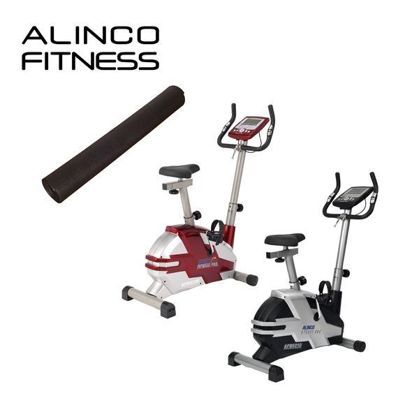 アルインコ(ALINCO) プログラムバイク6010&フロアマット お買い得セット AFB6010R/EXP100 レッド エクササイズバイク フィットネスバイク マット付 【送料無料】