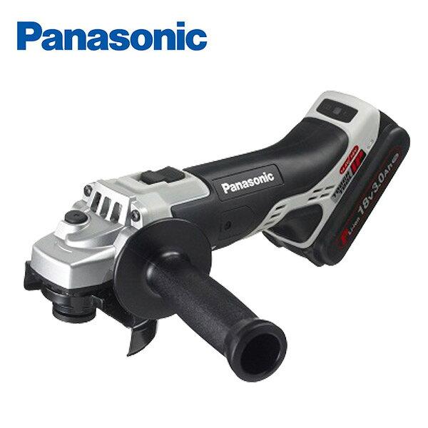パナソニック(Panasonic) 充電ディスクグラインダー100 18V 3.0Ah EZ46A1PN2G-H 電動工具 ジスクグラインダー 充電式ディスクグラインダー 研削 研磨 【送料無料】