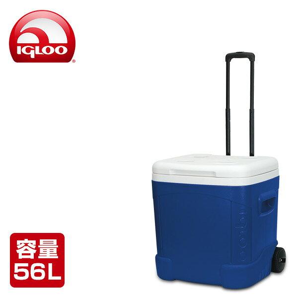 イグルー(IGLOO) アイスキューブ 60 ローラー (56L) #45097 マジェスティックブルー クーラーボックス クーラーバッグ アウトドア キャンプ 保冷バッグ キャンプ用品 【送料無料】