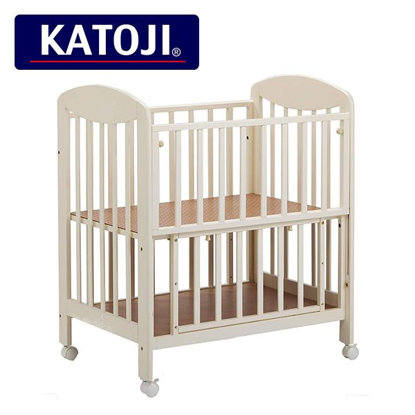 カトージ(KATOJI) ミニ立ちベッド プチバニラ 2356 正規品 ベビー 赤ちゃん ベッド 収納棚 ミニ 小さい コンパクト 【送料無料】