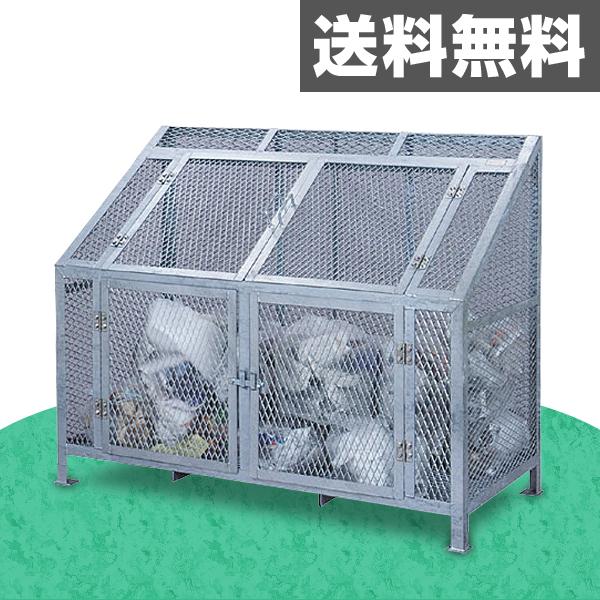 サンカ(SANKA) ダストBOX CS-08ゴミ収集 スチール カラス対策 【送料無料】