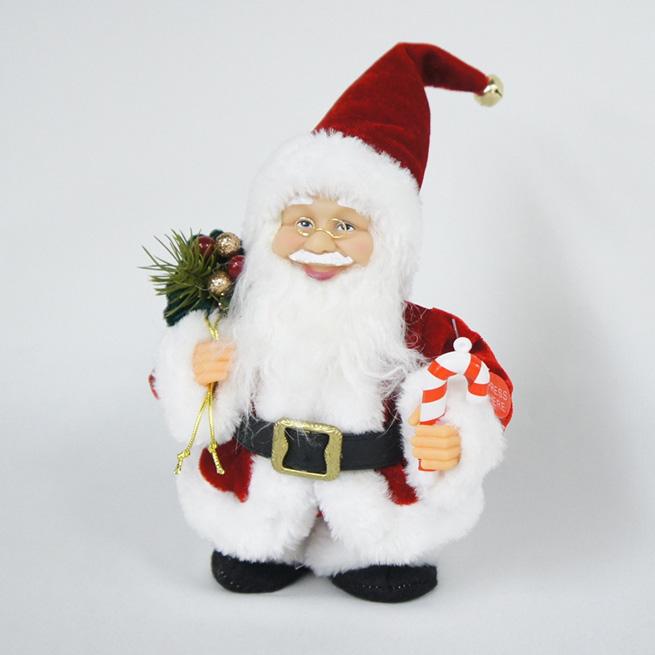 メロディーウォーキングサンタ サンタクロース置物 インテリアオブジェ クリスマスディスプレイ インテリア雑貨 渡辺美奈代セレクト