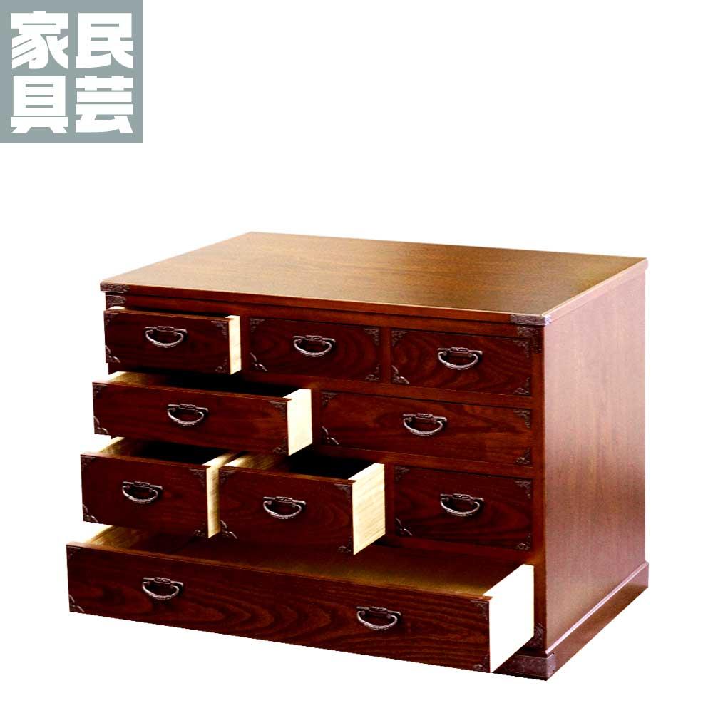 民芸たんす(小) 50型 民芸箪笥 民芸 家具 たんす タンス 伝統 収納