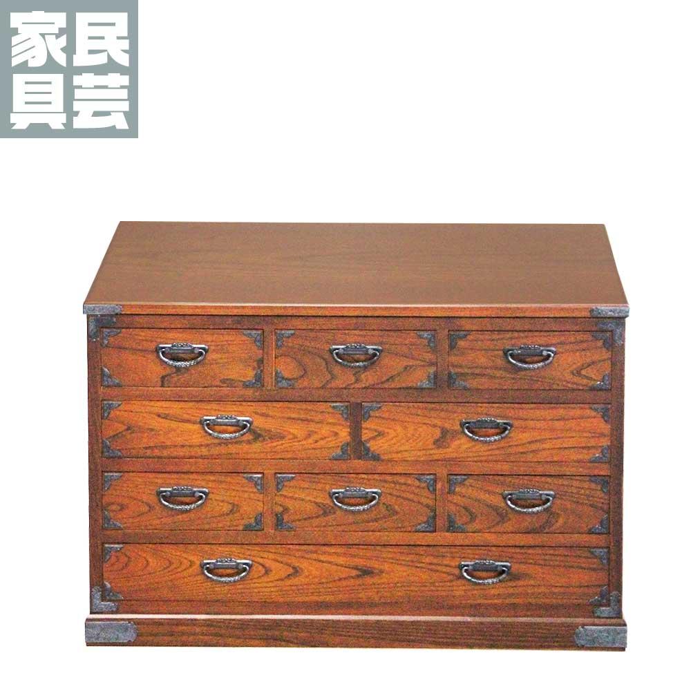 民芸たんす(小) 51型 民芸箪笥 民芸 家具 たんす タンス 伝統 収納