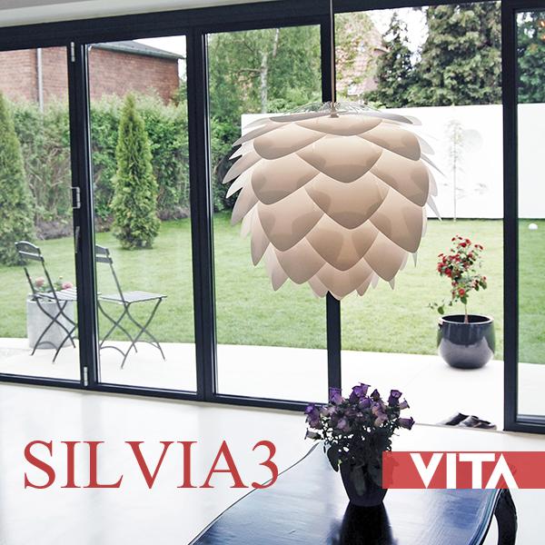 VITA(ヴィータ) ペンダントライト 「SILVIA(シルビア) 3灯」 シルヴィア デンマーク 北欧 LED対応 北欧照明 天井照明 デザイナーズ おしゃれ シーリング ダイニング 【送料無料】