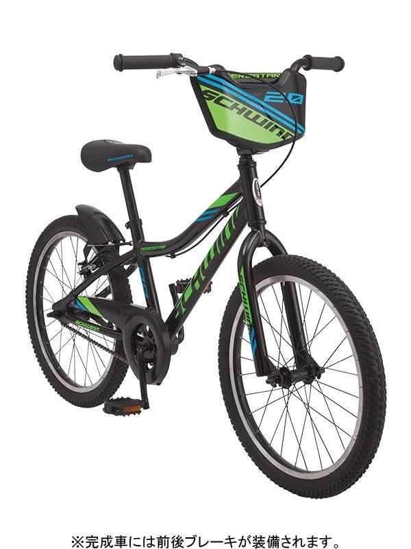 ★【260】小キズあり SCHWINN シュウィン AEROSTAR エアロスター ブラック 20インチ 子供用自転車 2019年モデル ZSX25301【キャッシュレス5%還元対象】