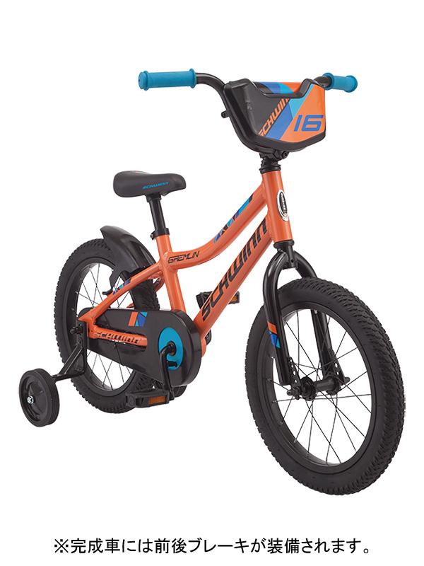 ★【260】小キズあり SCHWINN シュウィン GREMLIN グレムリン オレンジ 16インチ 子供用自転車 2019年モデル ZSX25502【キャッシュレス5%還元対象】