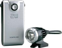 【~2.0kg】●ホワイトライト HP 2W WhiteLite HP 2W トピーク TOPEAK △△2 ホワイトライトHP2W