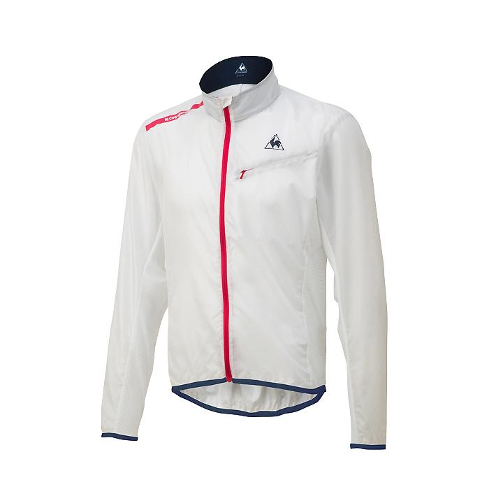 【80】le coq sportif ルコックスポルティフ QCMNGC22 ホワイト(半透明) Sサイズ クリアジャケット LCS4548951680507 お取り寄せ【キャッシュレス5%還元対象】
