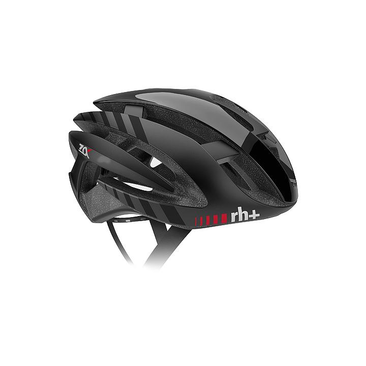 【140】EHX6072 Z ALPHA 04 シャイニーブラック/マットブラック/マットブラック L/XL rh+ アールエイチプラス ヘルメット EHX6072-BKBKBK-XLX お取り寄せ【キャッシュレス5%還元対象】