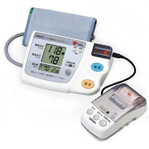 ★【80】HEM-759P オムロン OMRON デジタル自動血圧計 ファジィ プリンタ付き【あんしん延長保証加入可能】【kk9n0d18p】【キャッシュレス5%還元対象】
