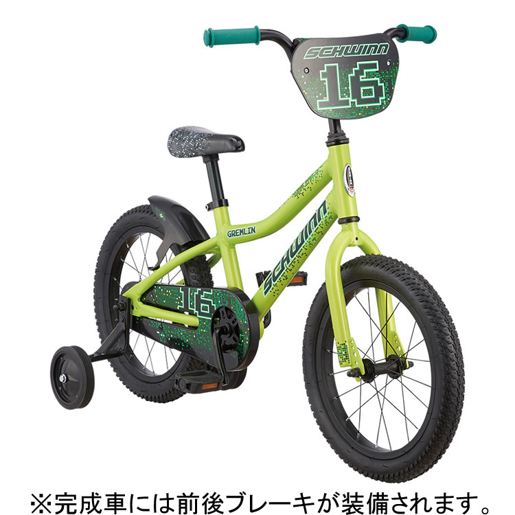【260】小キズあり SCHWINN シュウィン GREMLIN グレムリン グリーン 16インチ 子供用自転車 2018年モデル ZSX22902