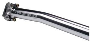 【80】MASTERPIECE SEAT POST SETBACK ポスト長240mm ポスト径27.2mm シルバー マスターピースシートポストセットバック THOMSON トムソン SP-M102SB-SLお取り寄せ